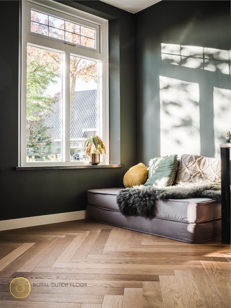 Op zoek naar een moderne vloer? De visgraat vloer of gietvloer zijn ideaal!